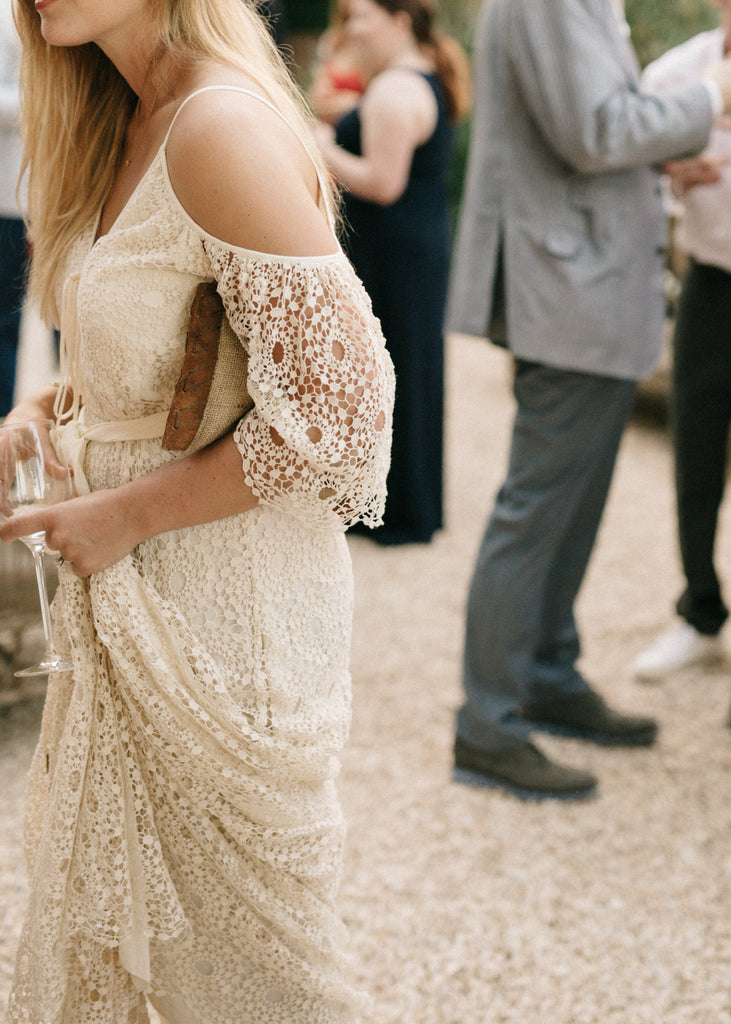French Lace Gown