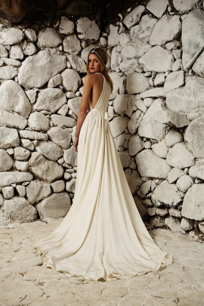 Capri Gown, Free Size Sample