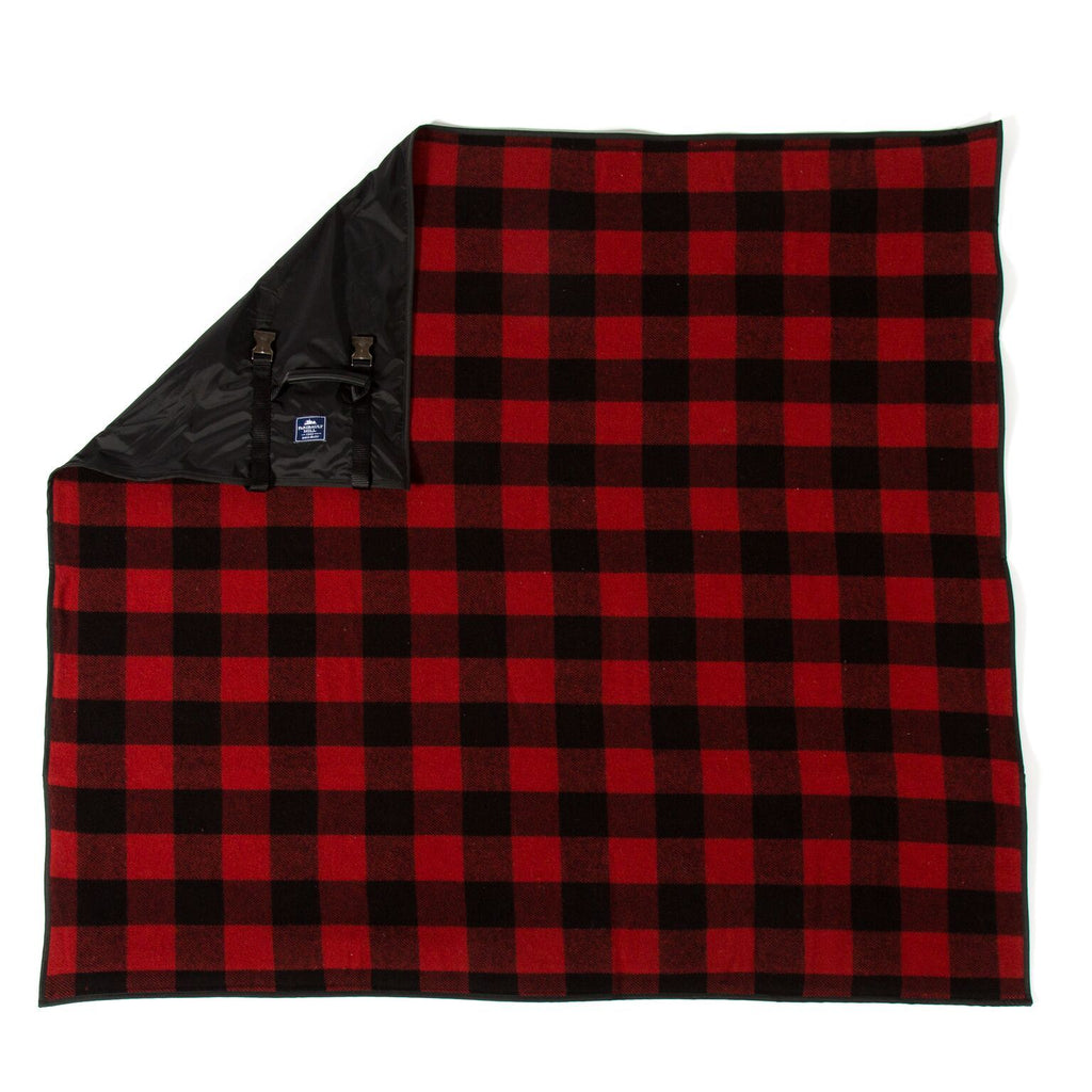 Buffalo Check Travel Blanket