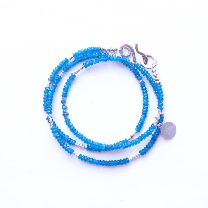 Apatite Wrap Necklace & Bracelet