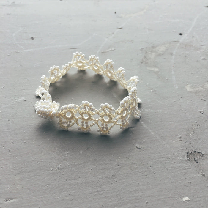 Pearly-White Bracelet