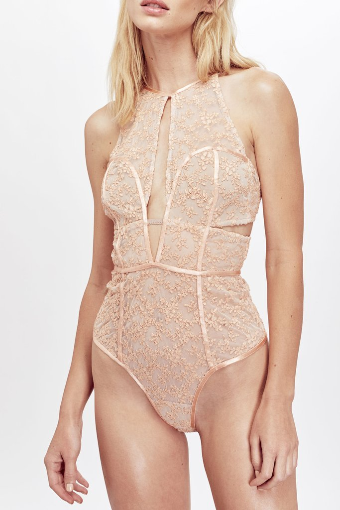 Miranda Embroidered Bodysuit