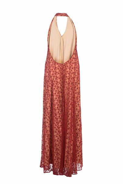 KOROVILAS 'Omi' Embroidered Maxi Dress