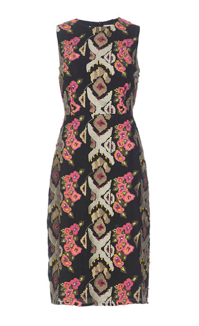 Dahlia Beaded Sheath Dress