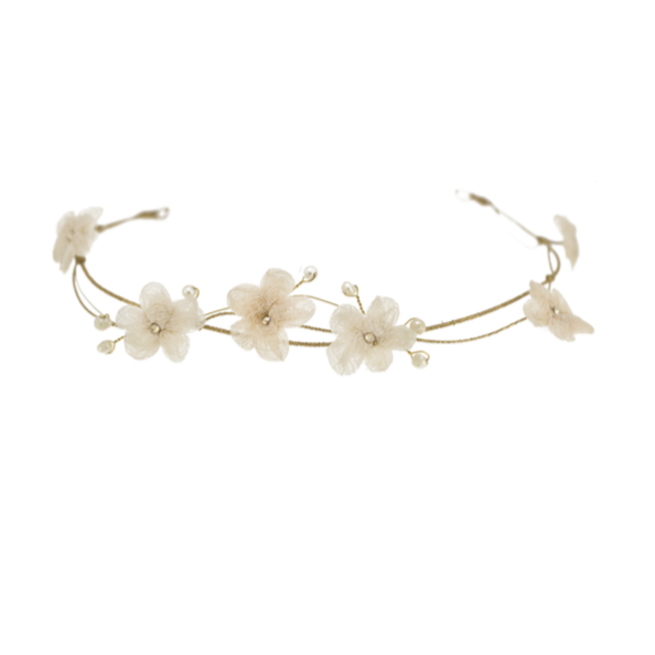Blush Cherry Blossom Flower Crown