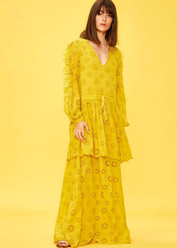 Marigold Midi Dress