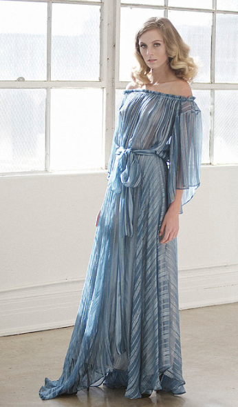 Lurex Gown