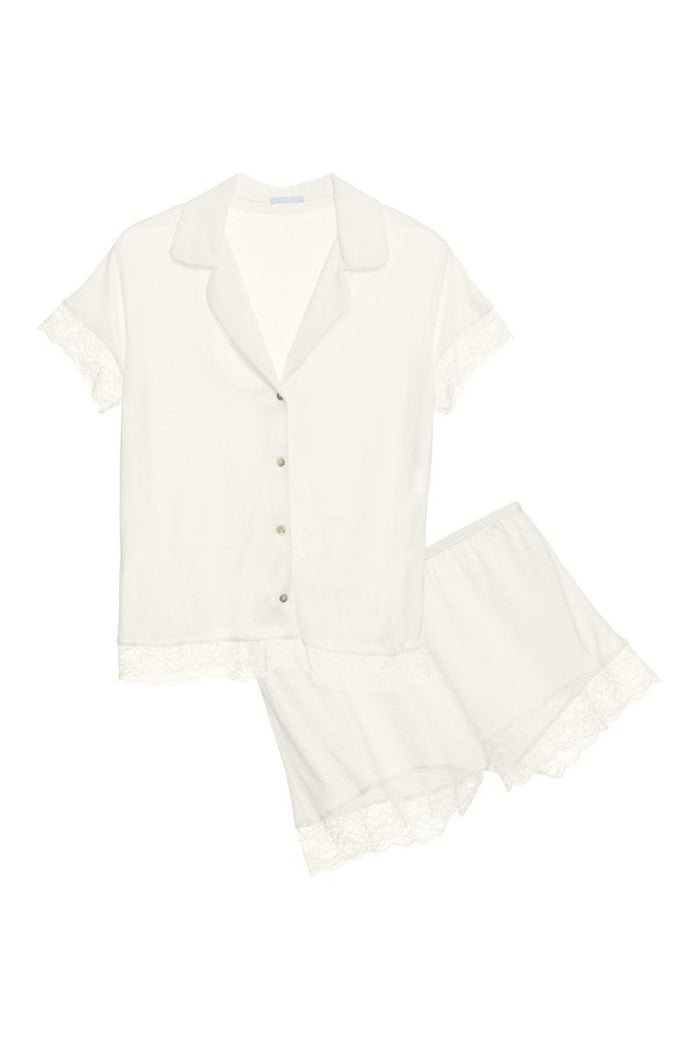Malou Short Pj Set with Lace