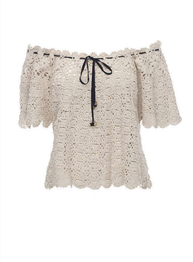 Wallace Crochet Top