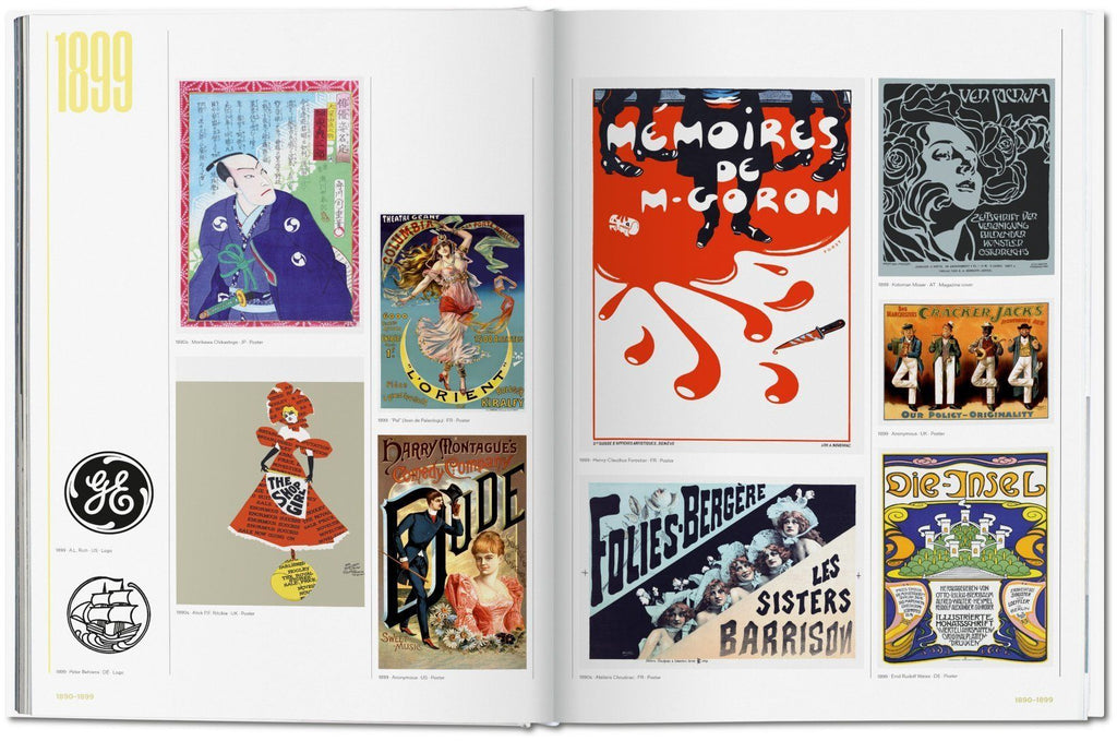 History of Graphic Design Vol. 1, 1890-1959