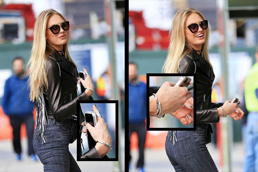 romee strijd wears l'expression in nyc