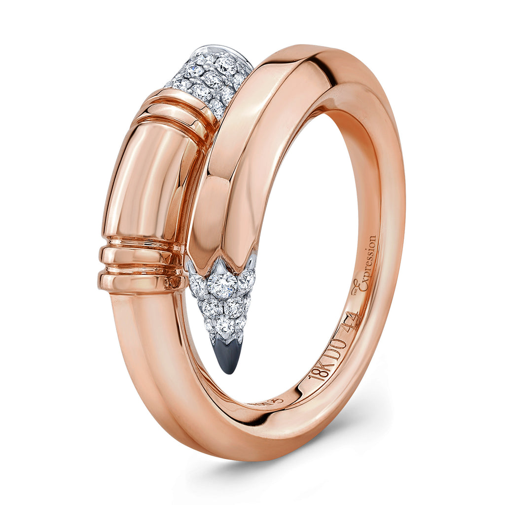Rose Gold Medium Gauge Ring