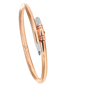 Rose Gold Small Gauge Bracelet