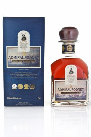 ADMIRAL RODNEY EXTRA OLD RHUM - 70 CL