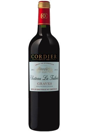 CHATEAU LA TUILERIE GRAVES - CORDIER - BORDEAUX - 75 CL