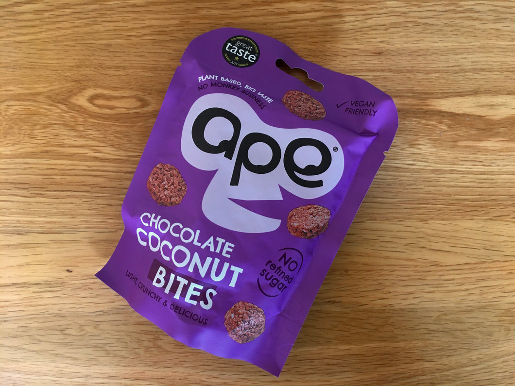 ape Chocolate Coconut bites
