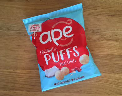 ape Coconut and Rice Puffs - Thai Chilli