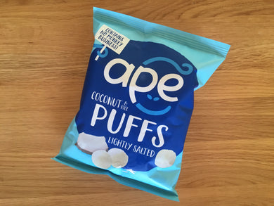 ape Coconut and Rice Puffs - Lightly Salted