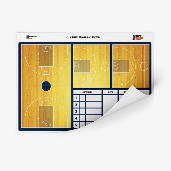 Sticker Board Basketball