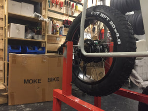 How to repair a flat tire on your UNIMOKE fat wheel e-bike