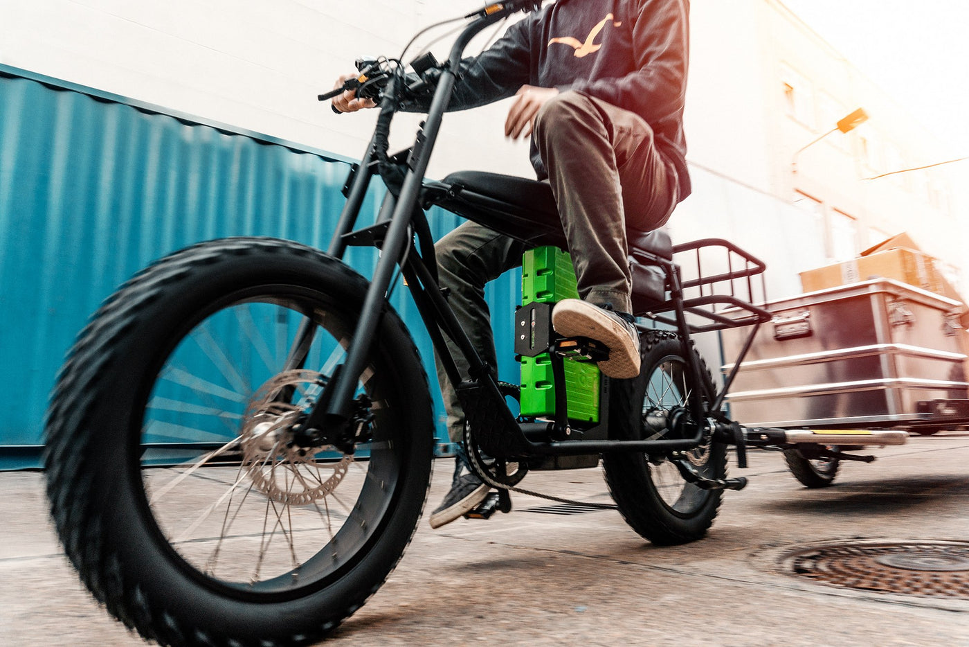 Beste UNI Moke delivery and electric cargo bike solution - Urban TL-99