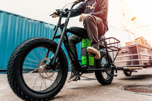 UNI Moke delivery and electric cargo bike solution