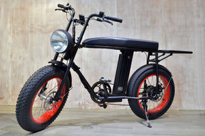 UNIMOKE E-Bike: NEW cargo rack options available!