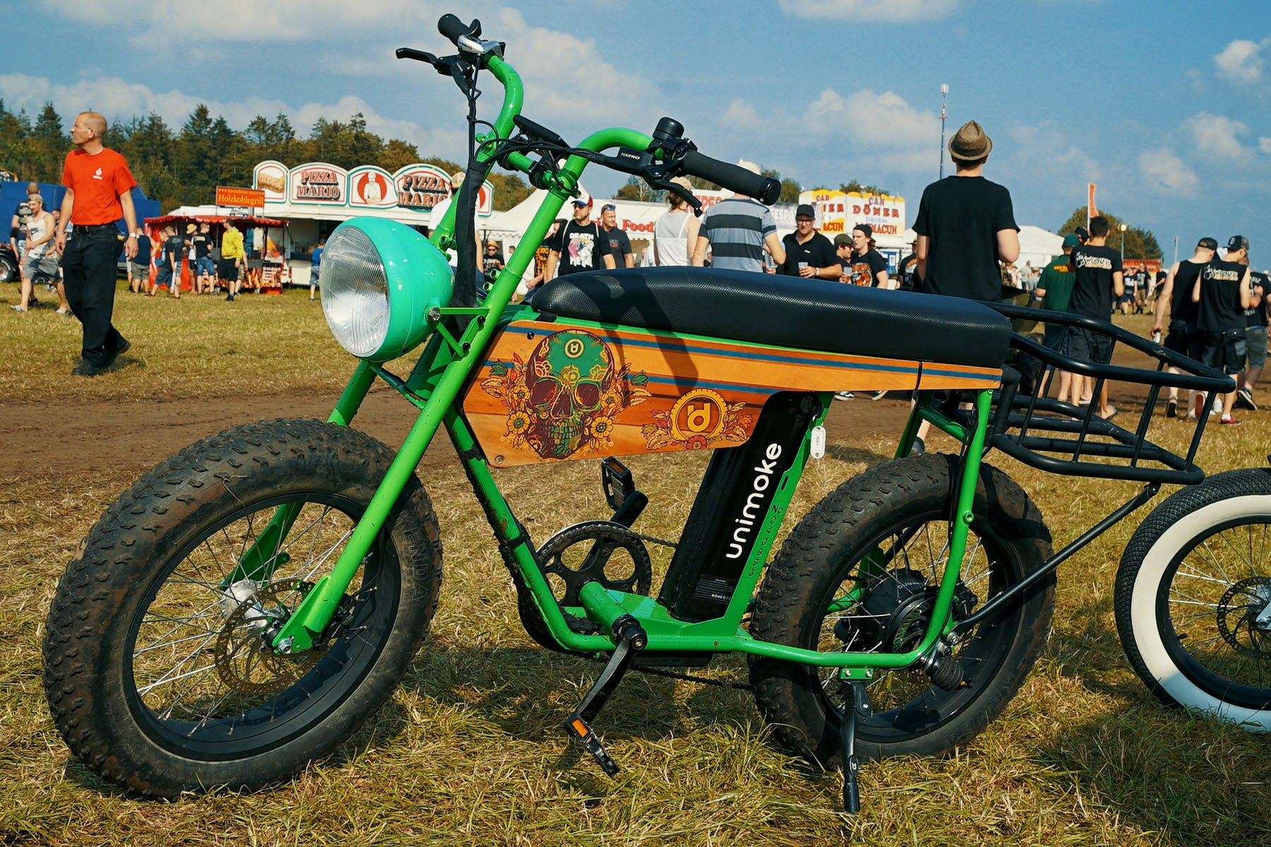 Throughout Germany with the UNI Moke: The Vintage E-Bike at Festivals