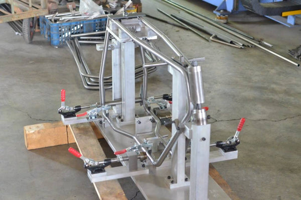 Uni Moke frame jig and mould for welding