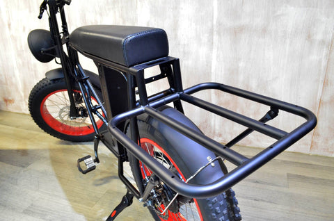 Cool cargo rack for electric bike