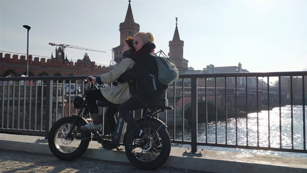 Double seat electric bike UNI Moke
