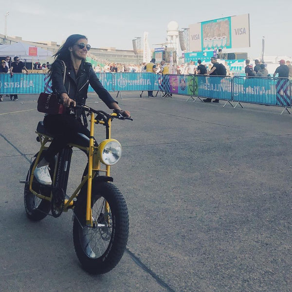 Cool electric bike for women and female riders