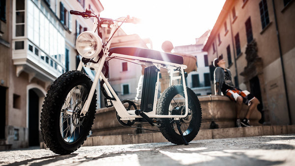 Cool picture of the UNIMOKE electric bike