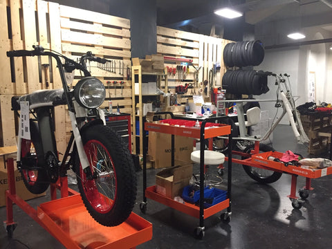 Cool bicycle workshop and store in berlin