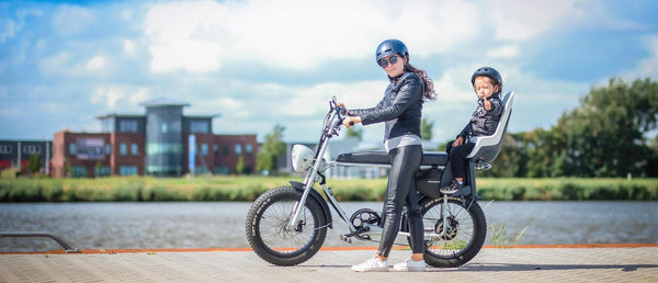 Uni Moke- Vintage moped style electric bike