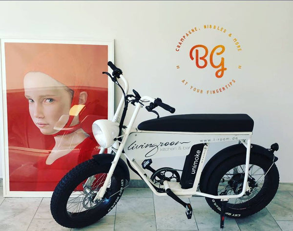 Branded advertising bicycle, e-bike, Theme Bike, bike for advertisement