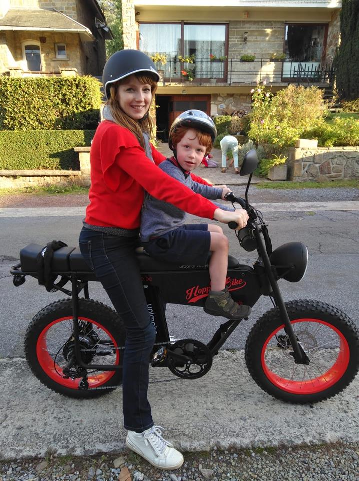 E-Bike for child transport / child seat / electric bike