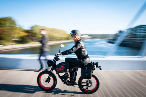 Cool Electric moped, electric motorcycle M8 by Urban Drivestyle