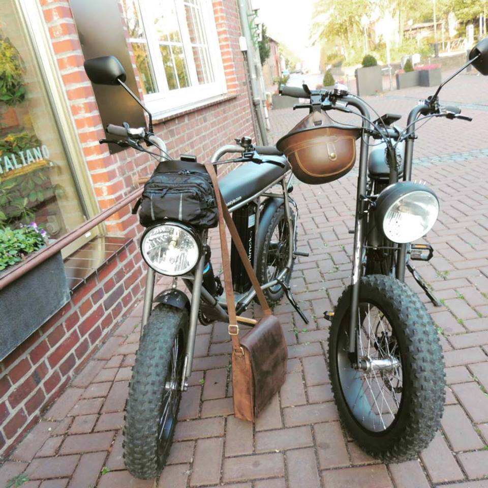 Uni Moke cool vintage style electric bike