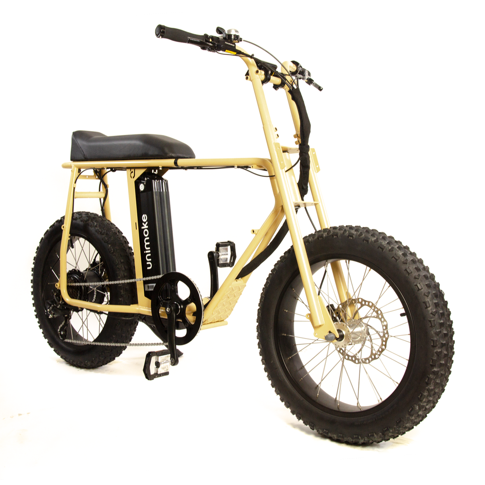 Uni Moke: Powerful and cool vintage electric bike / motorcycle / moped