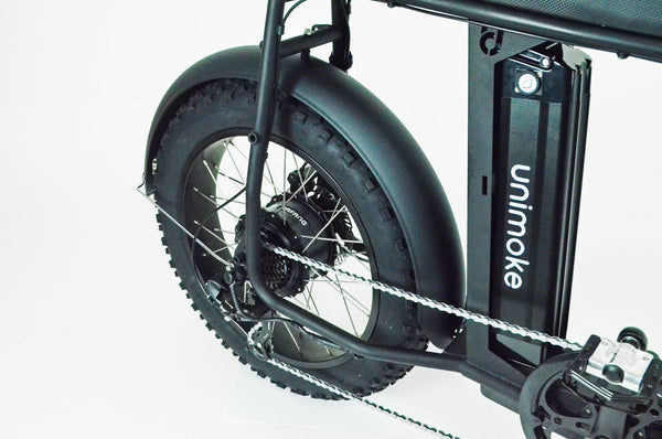 Full metal fat electric bike fenders / Mud guards