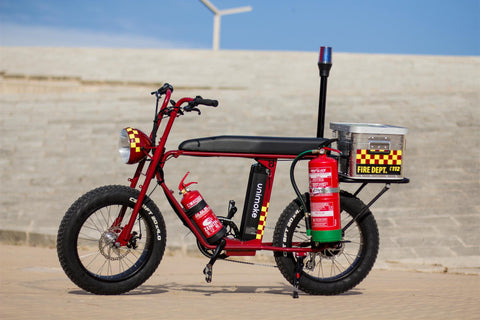 fire brigade electric bike law enforcement