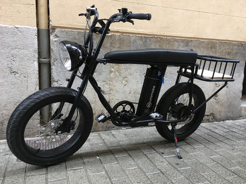 Urban cargo and delivery bike