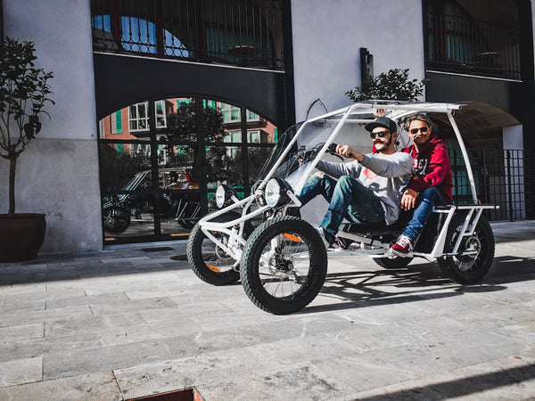 DUO MOKE velocar electric cargo bike