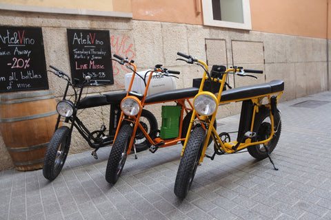 Unimoke cool delivery and cargo e-bike