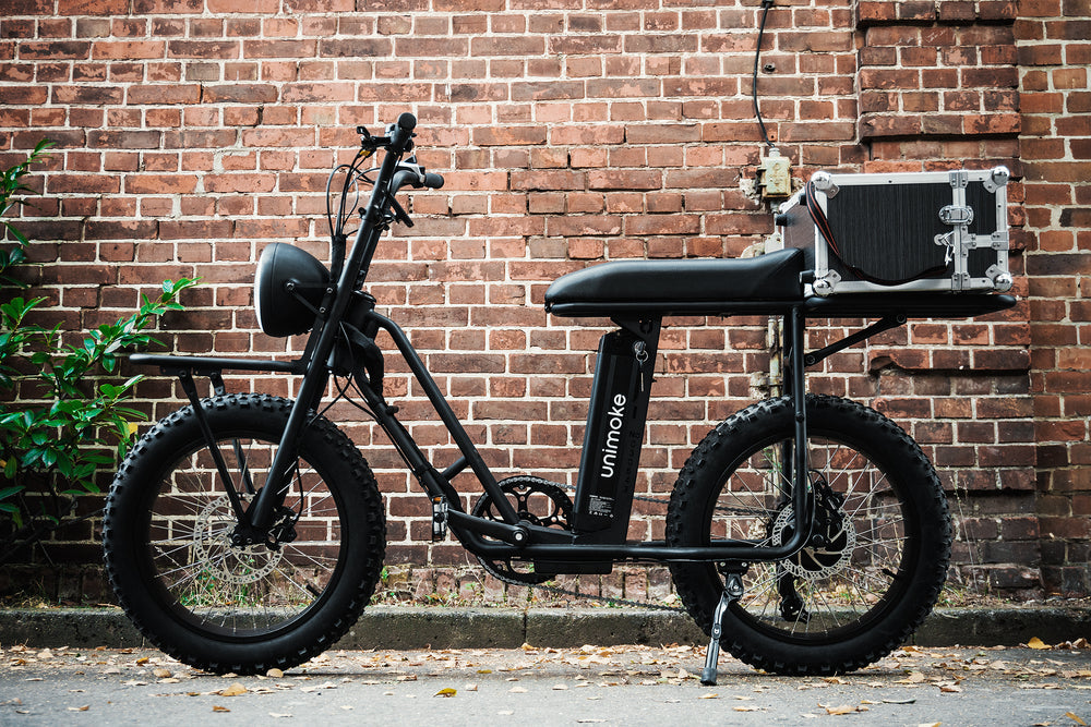 Electric bike for delivery and courier services / cool vintage bike