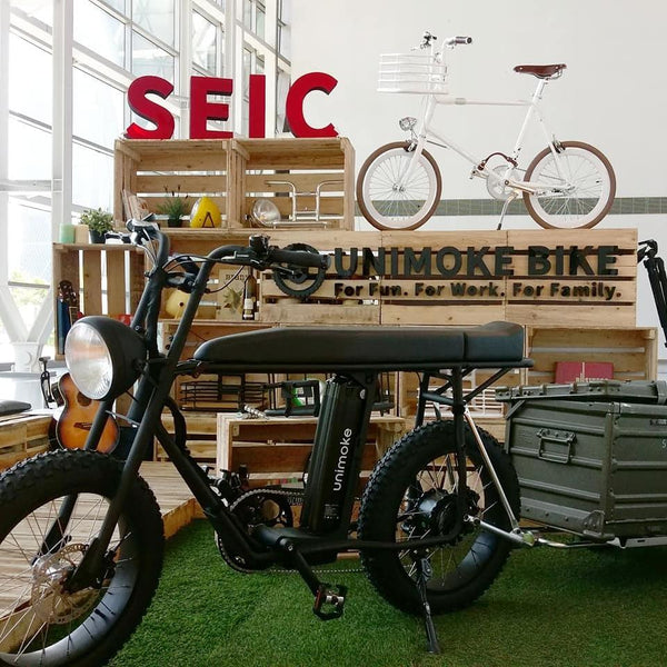 UNI Moke: Electric cargo bike with  trailer