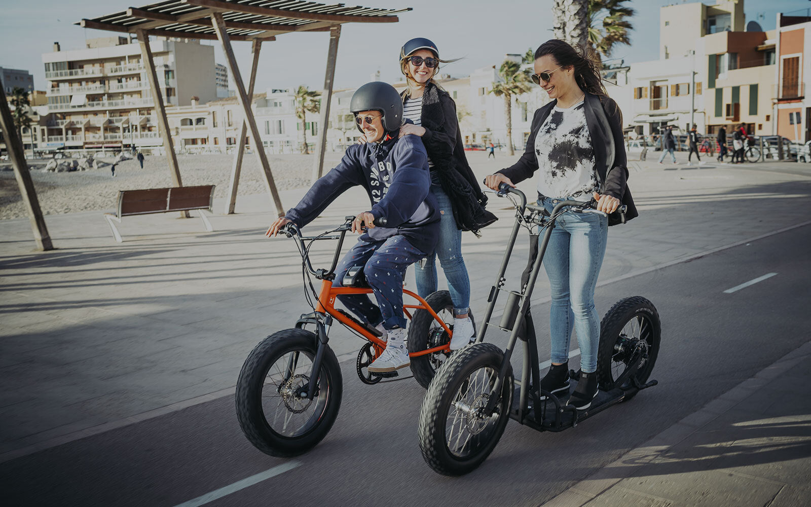 Urban Drivestyle fat tire electric bikes - fun and versatility