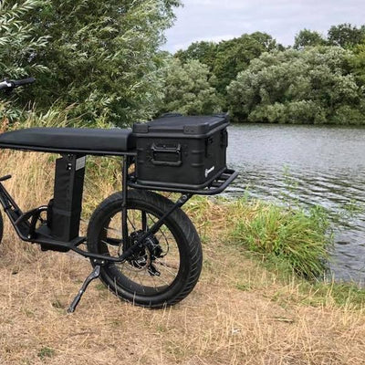 UNI Moke / Swing urban cargo e-bike low rear rack, delivery e-bike