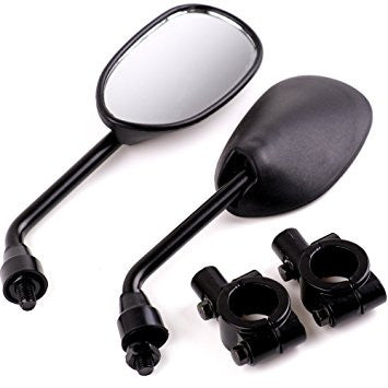 Mirrors Bicycle Motorcycle Ebike Universal Mount